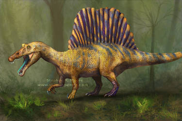 Spinosaurus Part Two! by StudioSpectre