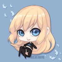 Chibi Erin by na-o-mi