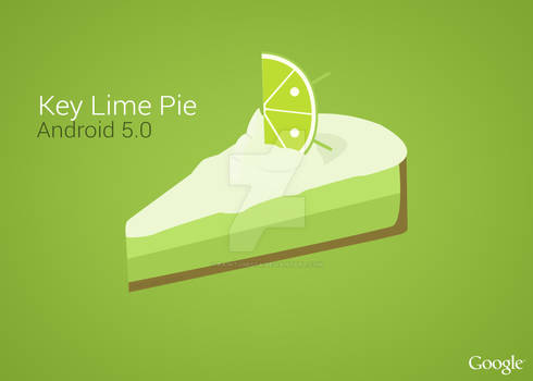 Android 5.0 Key Lime Pie Art (Early Version 2)