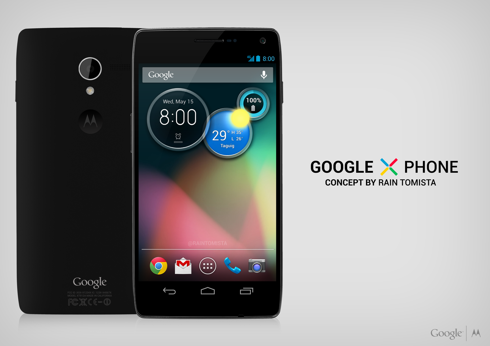Google X Phone Concept by raintomista