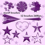 geometric stars photoshop brushes