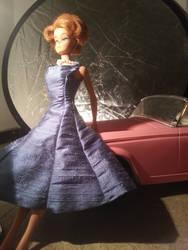 Vintage Barbie, Pink Rolls Royce by merineiti