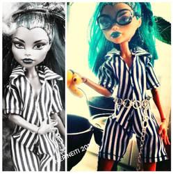 Nefera De Nile Monster high doll by merineiti