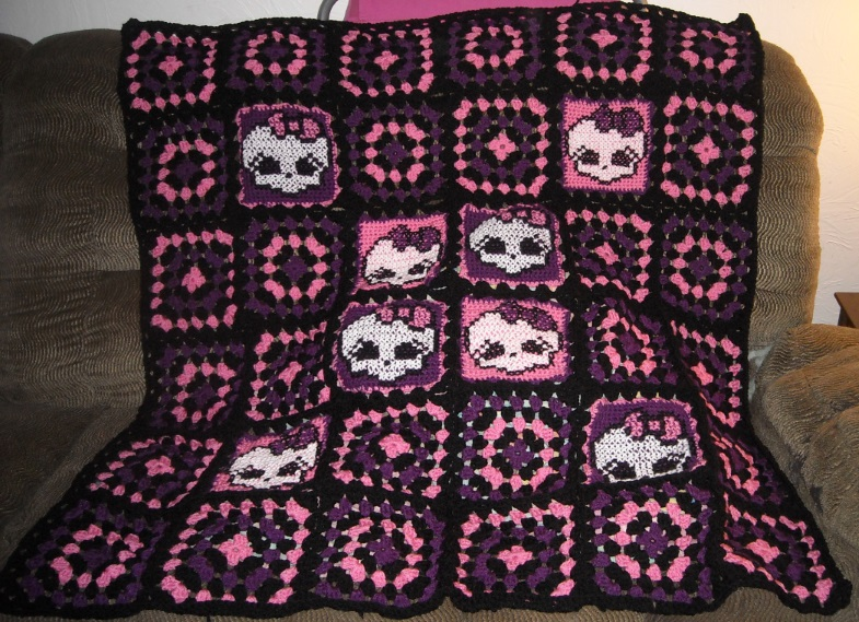 Monster High Skull Crochet Pattern Imagenesmy