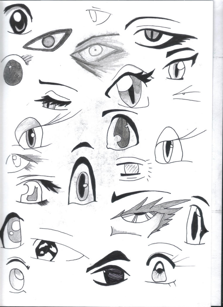 Manga:-anime Eyes Reference Pg By Hitoshirenu-aiyoku On