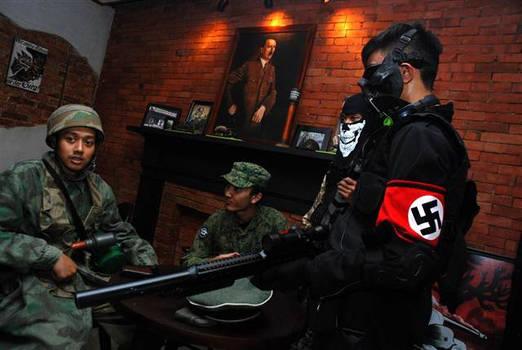 Thailand nazi uniform