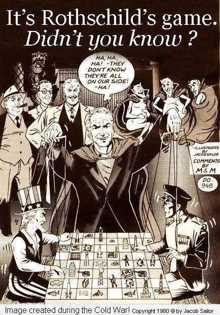 Rothschild is the puppet master by RebelOfGod ...