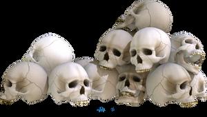 Skull Piles 2 by kungfufrogmma