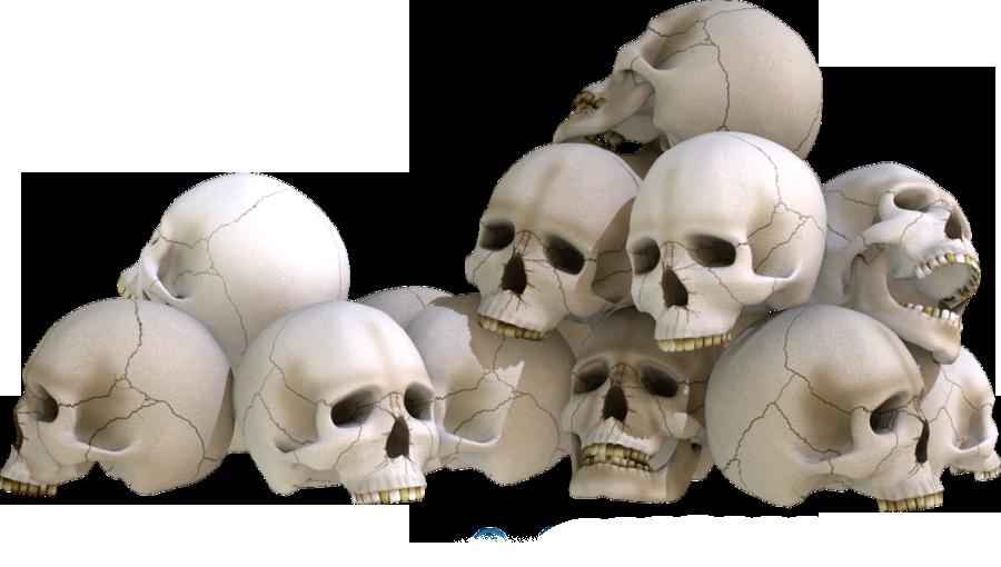 Skull Piles 2 By Kungfufrogmma On Deviantart