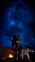 Lost under stars|Mass Effect by Shaman94
