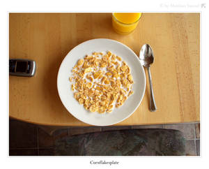 Cornflakesplate