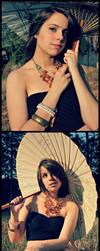 Double Umbrella by SammieKaye