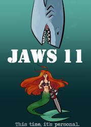 Chainsaw Mermaid by Bethluvsbooks