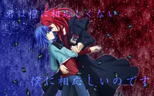 Ren and Aichi by Kuwano73