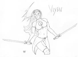 Forestmoon as Vixen by forestmoon