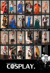 Cosplay Poster - Category 1 by forestmoon