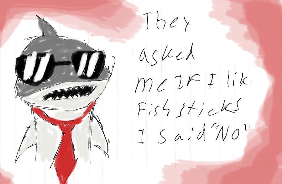 Looks like we got a badass over here by Shark bite on DeviantArt