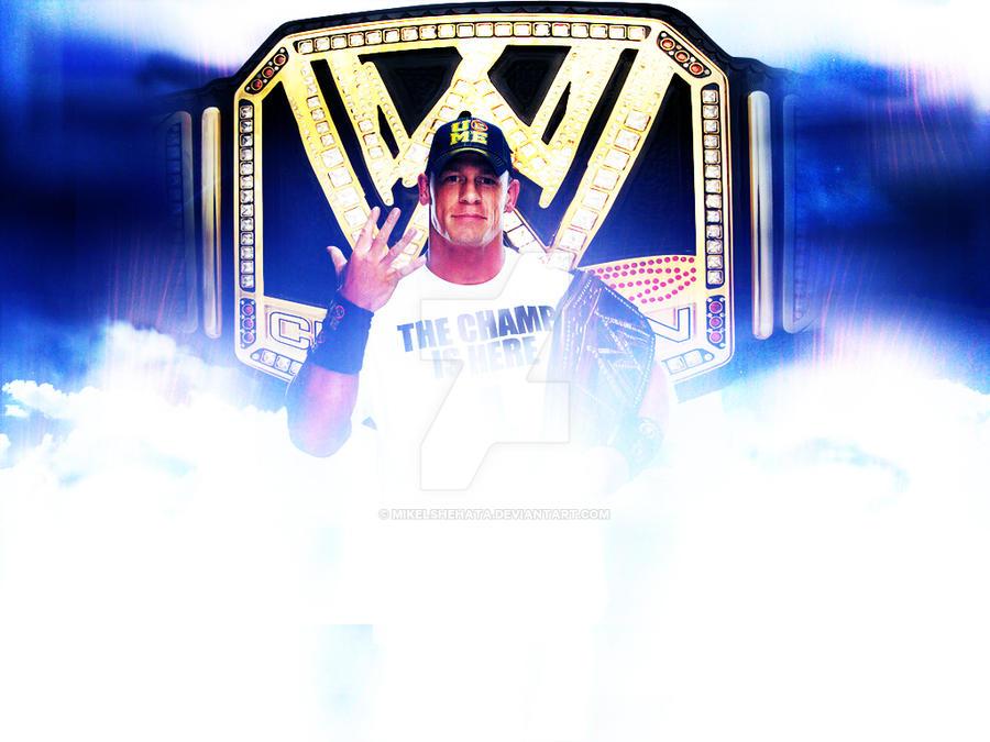 Wwe Champ John Cena Wallpaper By Mikelshehata On Deviantart