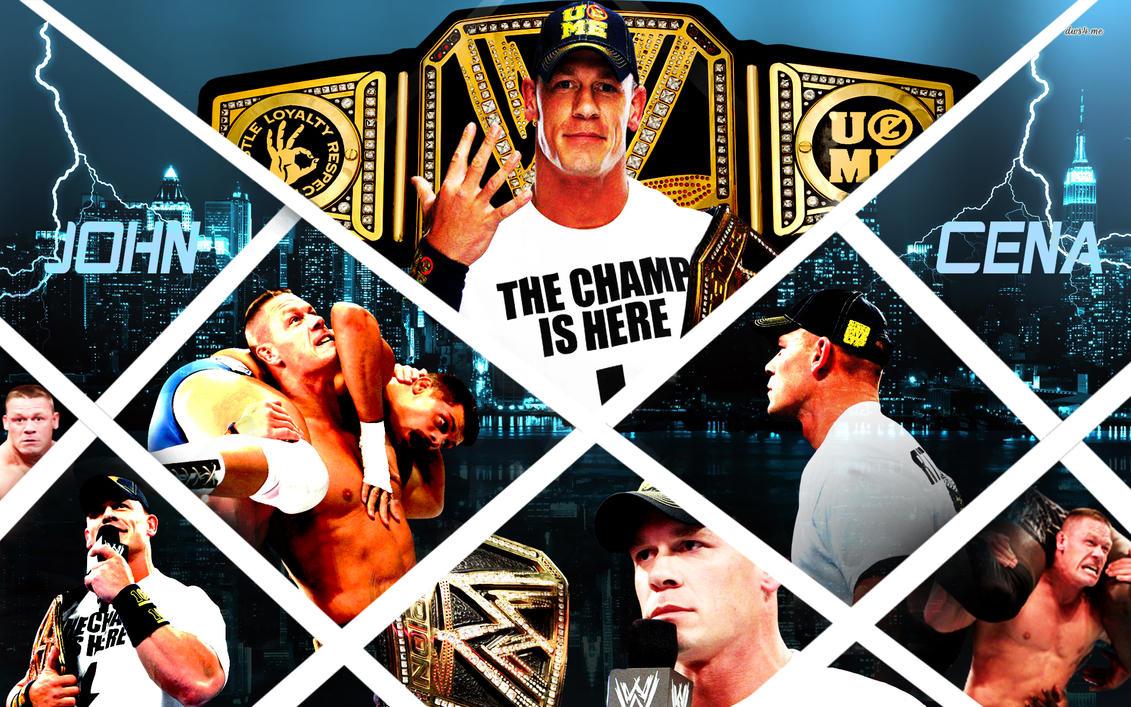 John Cena - WWE Champion ! by mikelshehata on DeviantArt  John Cena - WWE...