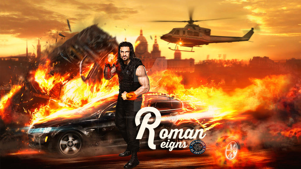 Roman Reigns - New Wallpaper..!? by mikelshehata on DeviantArt