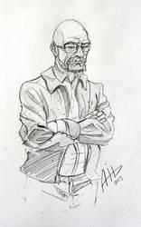 Walter White - Breaking Bad - Sketch by AmyVsTheWorld