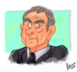 Tommy Lee Jones...Or Richard Nixon? by AmyVsTheWorld