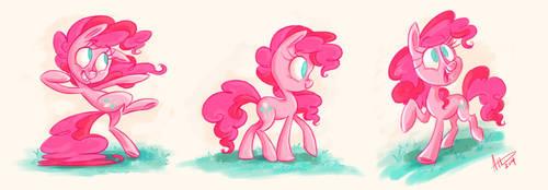 Pinkie Pie RE-Design 2.0 by AmyVsTheWorld