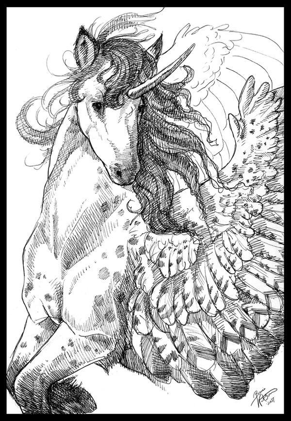 Flight of the Unicorn by bonbon3272