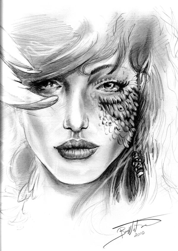 Everrest Portrait - Sketch by bonbon3272