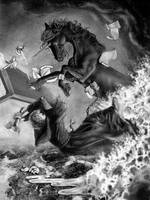 Dark Unicorn Revenge by bonbon3272