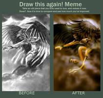 Meme: Draw this again by bonbon3272