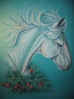 Christmas Horse by bonbon3272