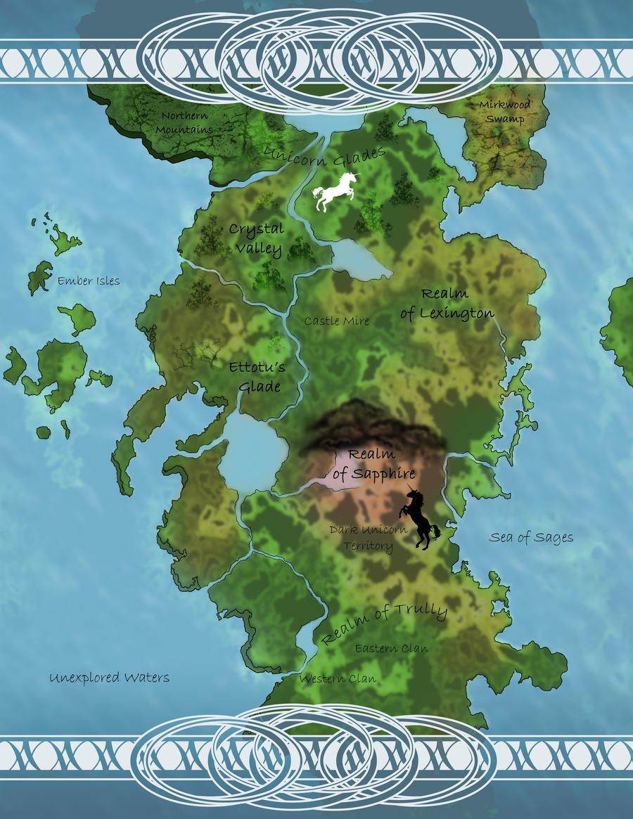 Wisdom Novels Map WIP by bonbon3272