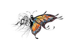 Buttefly Tattoo by bonbon3272