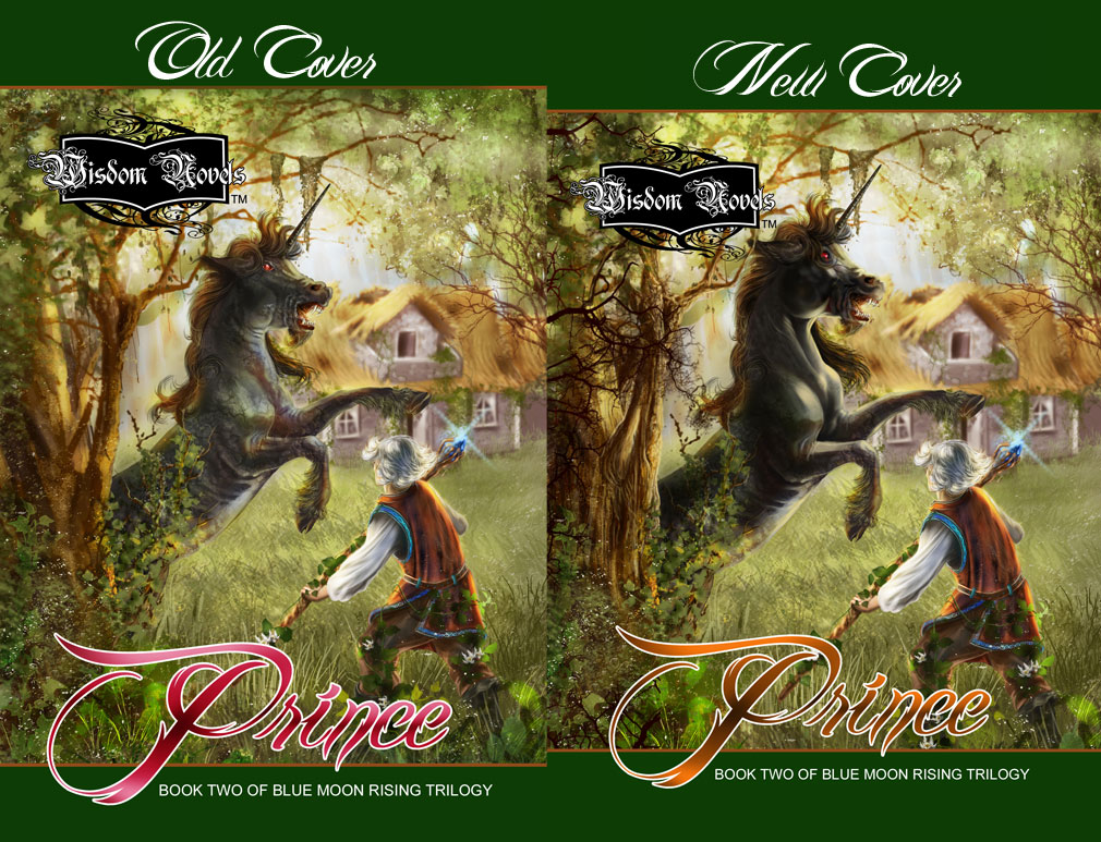 Book Two Cover Comparison by bonbon3272