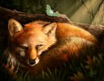 Fox and Moth