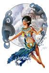 Savannah Swift - Master of Wind WIP