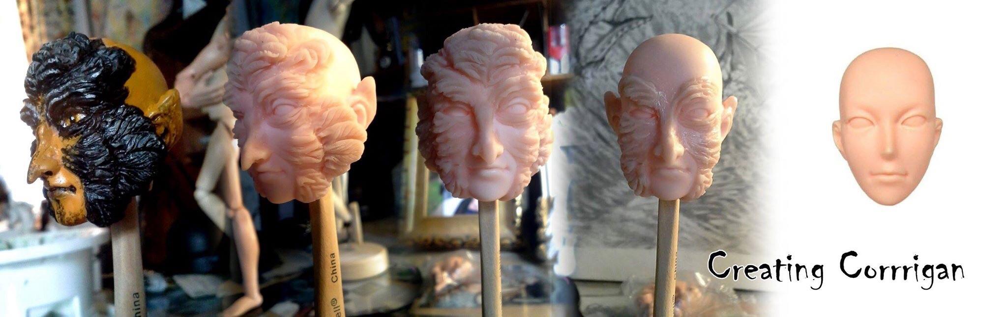 Corrigan Head Sculpt1 by bonbon3272