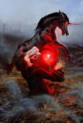 Healer Cover Art WIP by bonbon3272