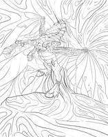 Free Steampunk Adult Coloring Page by bonbon3272