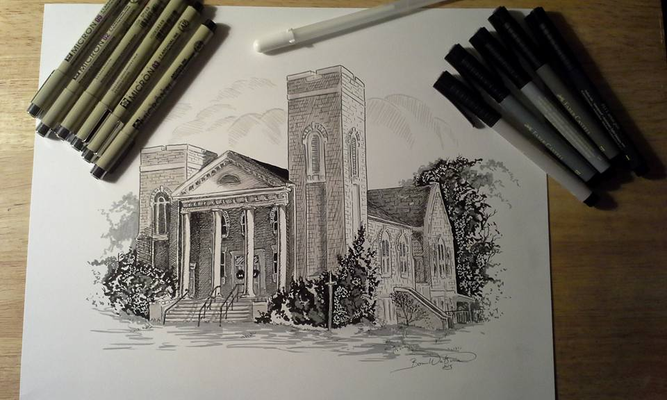 Victoria Christian Church by bonbon3272