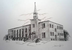 Victoria UMC Church by bonbon3272