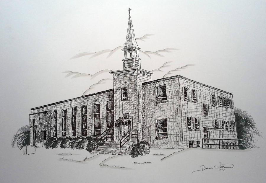 Victoria UMC Church by bonbon3272