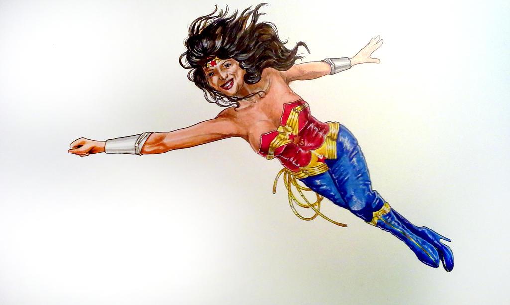 Sketchbox Wonder Woman by bonbon3272