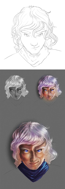Photoshop Face Test by bonbon3272