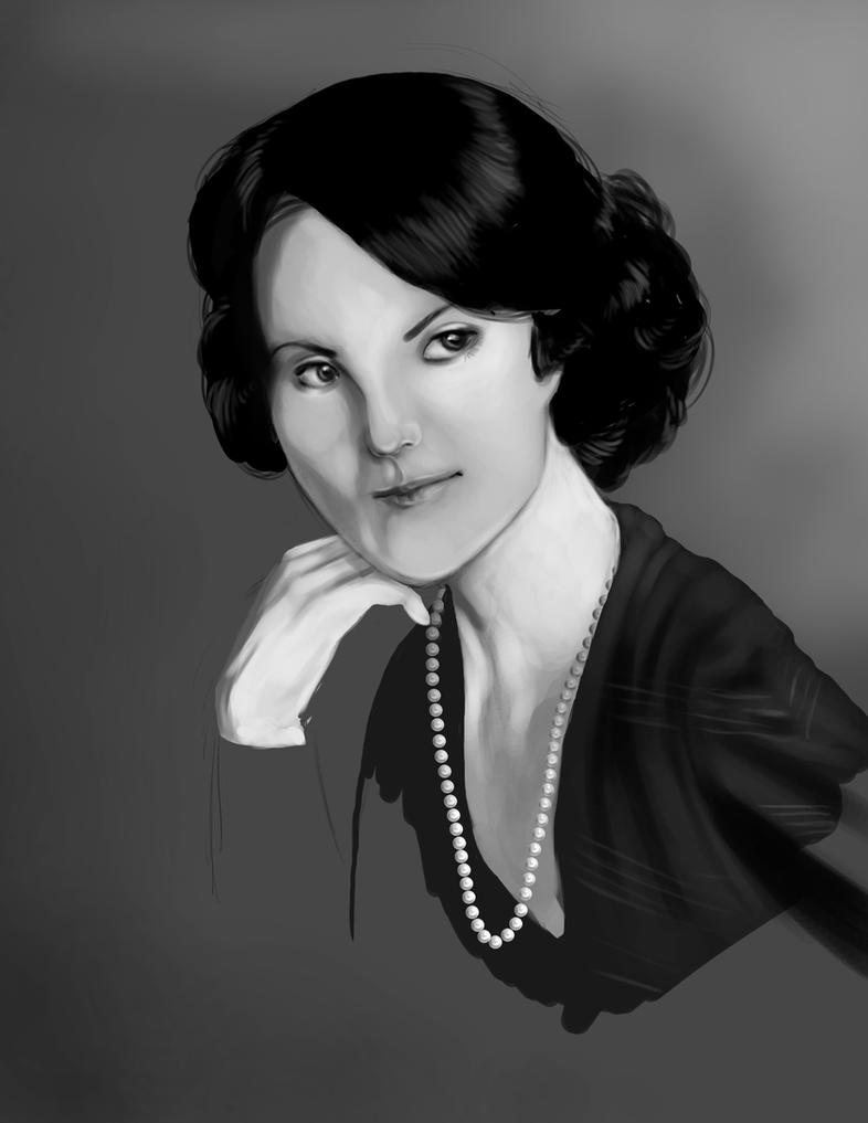 Lady Mary - Downton Abbey by bonbon3272