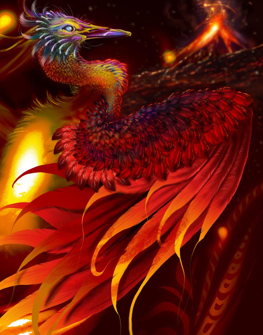 Royal Phoenix WIP by bonbon3272