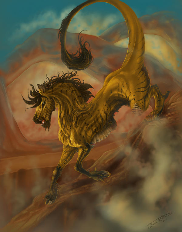 Desert Horse by bonbon3272