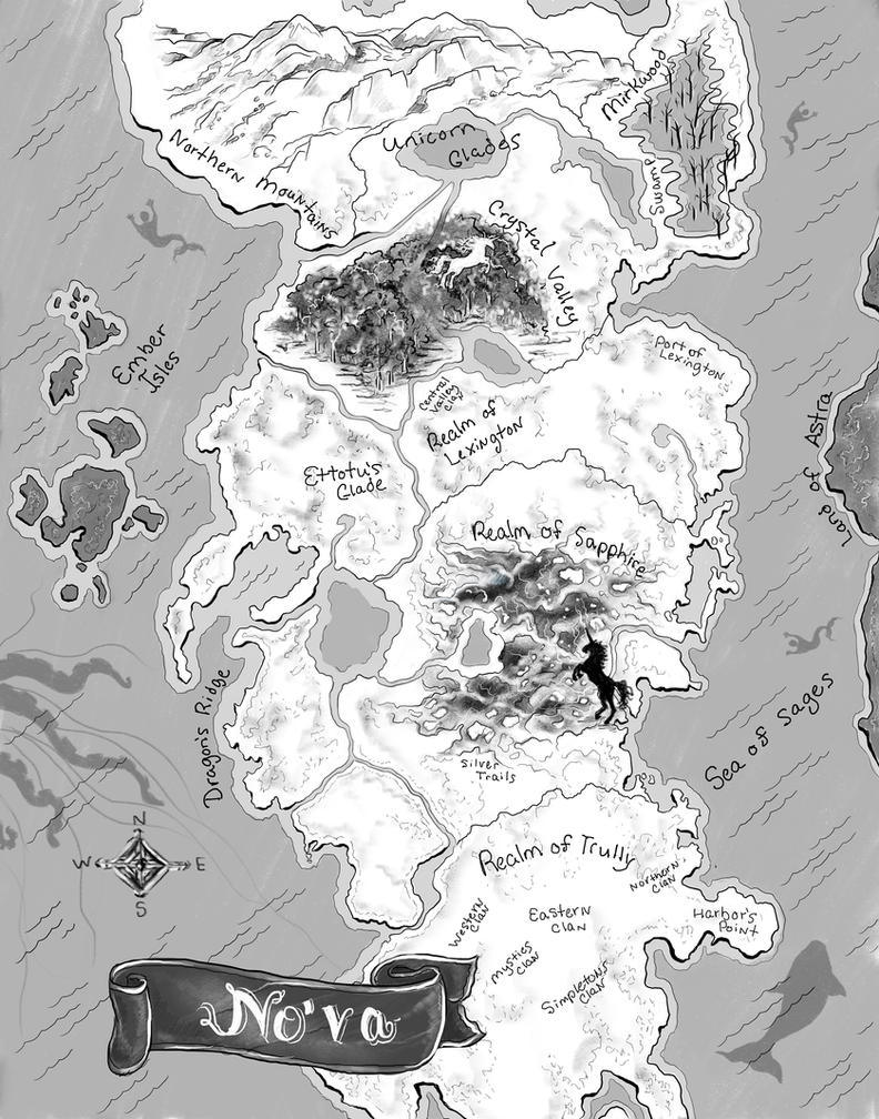 Revamped Map of No'va by bonbon3272