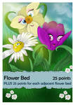 Flowerbed - Card Game Commission by bonbon3272